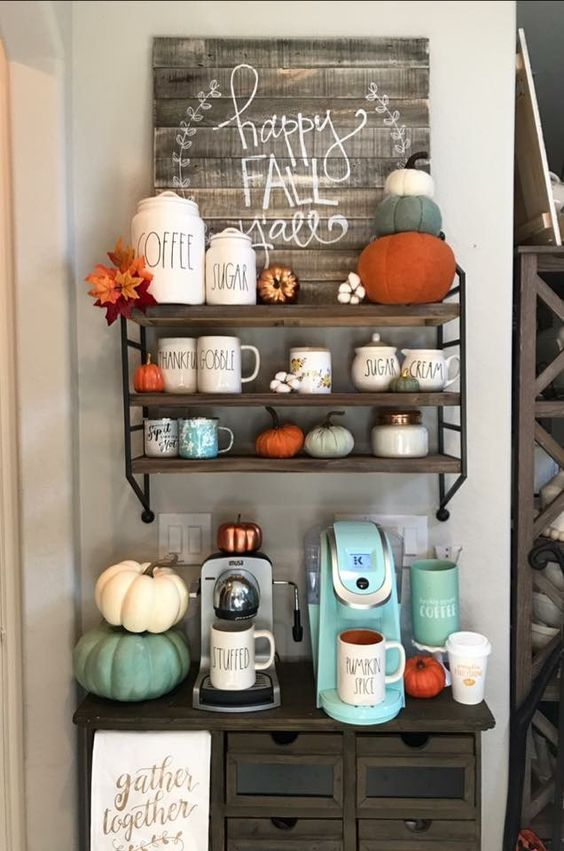Best Fall Decorating Ideas For The Home – Farmhouse Kitchen ...