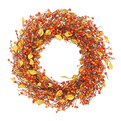 Outdoor Artificial Fall Wreaths For The Front Door Autumn