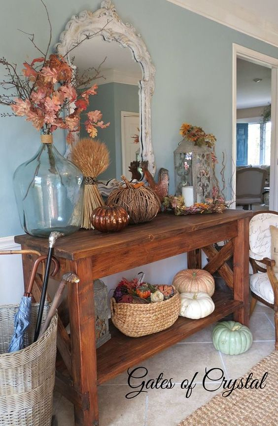 Indoor Fall Decor Ideas - Autumn Touches You'll Love ...