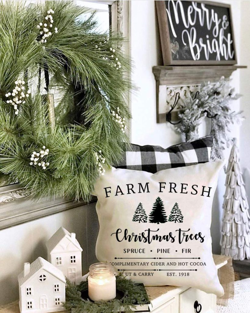 10 Modern Farmhouse Christmas Decorating Ideas For The Home Farmhouse Charm Decorating Ideas And Accessories For The Home Creative Ideas For Every Room