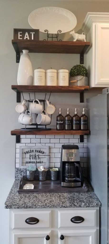 Coffee Corner Ideas For A Small Space - Cozy Nook Ideas ...