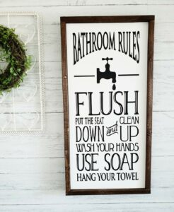 Decorative Farmhouse Bathroom Wall Decor Ideas You Ll Love Decorating Ideas And Accessories For The Home Creative Ideas For Every Room
